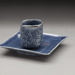 Darted Cup w/Tray
