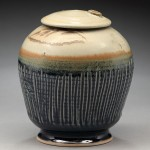 Covered Jar Pottery by Nancy Zoller