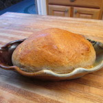 Oval Baking Dish w/bread