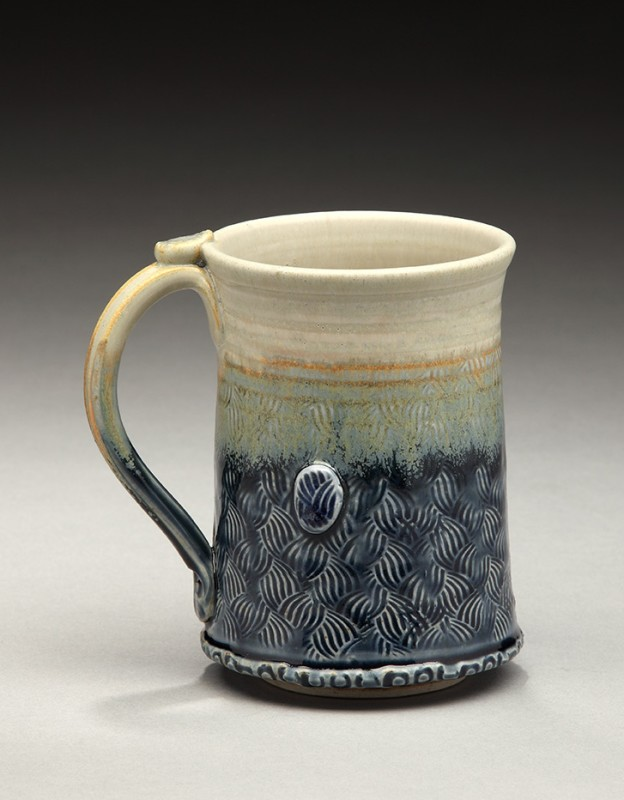 Pottery Cup by Nancy Zoller